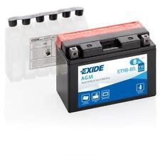 Batterie moto Exide YT9B-BS ET9B-BS 12V 8AH 115A 150X70X105MM