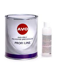 AVO A010415 Polyester Spritzfüller1,5kg mit Härter 50g