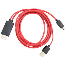 Micro Usb Mhl to Hdmi Adapter Cable for Samsung Galaxy Note 8 Gt-N5100 Gt-N5105