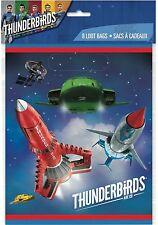 8 x Thunderbirds sont aller Fête D'anniversaire Faveur butin sacs