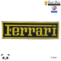 Ferrari Car Brand Logo Embroidered Iron On Sew On Patch Badge For Clothes etc