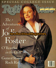 Rolling Stone 3/91,Jodie Foster,Guns n' Roses,March 1991,NEW