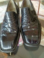 Mauri Alligator Shoes Made In Italy 8.5