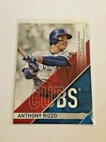 2017 Topps Baseball Silver Slugger Award - Anthony Rizzo - Chicago Cubs