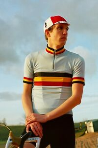 Rapha Mens Merino Belgium Ltd Edition cycling jersey Large New with tags