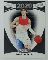 2020-21 Panini Contenders Draft Picks Class 20 Lamelo Ball Rookie RC #4, Hornets