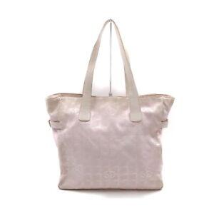 Chanel Tote Bag  Pinks Nylon 1535629