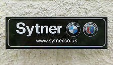 BMW Sytner Alpina Rear Window Sticker
