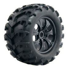 Rubber Tires With Wheel Sets T810001 150mm 4P Fit RC HSP 1:8 Monster Truck