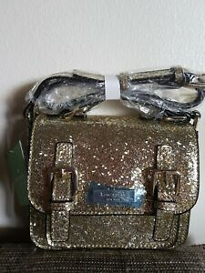 Genuine Kate Spade New York Crossbody Bag New with Tag Gold Glitter From USA