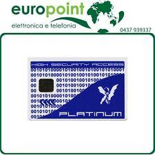 Smart Card smartcard PLATINUM con processore e Ram integrati