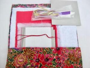 Pretty box kit to make Ribbons  Quality materials in red black and gold  New