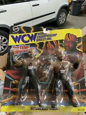 WCW HARLEM HEAT TAG TEAM FIGURE SET NEW BOOKER T STEVIE RAY