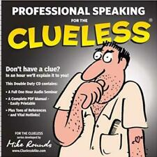 Professional Speaking For The Clueless AUDIO BOOK CD Mike rounds seminar speech