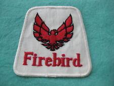 "Vintage Firebird Patch 3 5/8 "" X 3 7/8"""