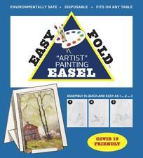 Easy Fold Beginning Artist Reusable Lightweight Artists Painting Table Top Easel