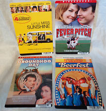 FEVER PITCH--GROUNDHOG DAY--BEERFEST--LITTLE--4 MOVIE BACKER COLLECTIBLE CARDS