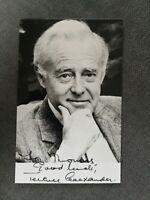 Terence Alexander Konvolut Autograph Autogramm und Brief letter  top!