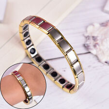 Germanium Titanium Steel Elastic Bracelet Stretch Bangle Health Energy Power pw