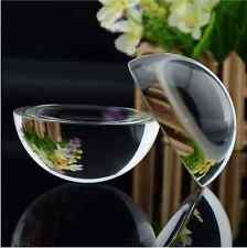 20mm Glass Crystal Paper Weight Clear Half Sphere Ball Magnifying Glass Lens