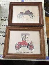 1902 Rambler Nash Runabout ,1903 OLDSMOBILE CURVED DASH  VINTAGE PRINT