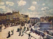 Pierre Renoir print, Pont Neuf, unframed,plate c1872