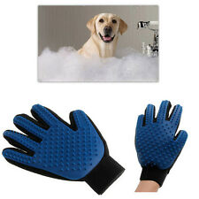 Pet Dog Cat Massage Grooming Glove Five Fingers Deshedding True Touch Gentle