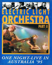 Electric Light Orchestra - Part II -  One Night in Australia '95 (DVD) NEW rare