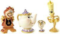 Enesco Disney Showcase Beauty and The Beast Figurine Set