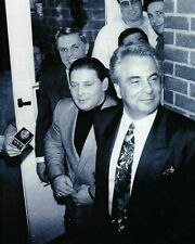 """JOHN GOTTI JR WANTED POSTERS 8"""" X 10"""" PHOTO PICTURE MOB MAFIA MOBSTER GANGSTER"""