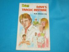 1981 BACK TO THE BIBLE - TYLER TALES - DAVE'S TRAGIC MISTAKE - RUTH JOHNSON JAY