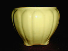 Ohio Zanesville Pottery & Stoneware No 0 Yellow Jardiniere/Planter/Flower Pot