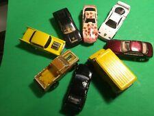 Vintage 1987 & UP Mattel Hot Wheels RACE Cars FERRARI Lot Of 8  Simpsons VAN
