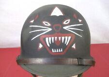 Vietnam Arvn Ranger Medic M1 Ground Troop Helmet Complete w/Liner - Dated 1961