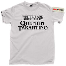 Written and Directed by Quentin Tarantino Reservoir Dogs films fan tee t shirt