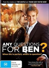 """Any Questions For Ben? (Dvd) """"Brand New"""" Josh Lawson, Rachael Taylor Comedy Film"""