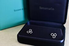 Tiffany&Co. Paper Flowers Diamond Open Flower Earrings