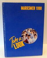 Saint Mark's School of TEXAS Marksmen Dallas Private Boys School 1990 Annual