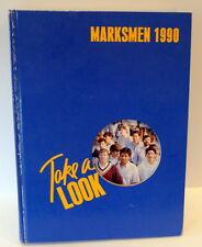 Saint Mark's School of TEXAS 1990 Annual Marksmen Dallas Private Boys School
