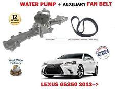 für Lexus GS250 2.5 4GR-FSE 2012- > Wasserpumpe + Hilfs Lichtmaschine Keilriemen