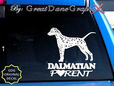 Dalmatian PARENT(S) - Vinyl Decal Sticker / Color Choice - HIGH QUALITY
