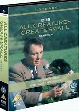 ALL CREATURES GREAT AND SMALL Complete Series Season 4 DVD James Herriot UK R2