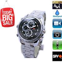 Hidden Camera Spy Wrist Watch Waterproof 8GB Video HD 1280*960 DV DVR Camcorder