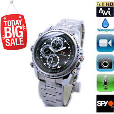Hidden Camera Spy Wrist Watch Waterproof 8GB Video HD 1280*960 DV DVR Camcorder