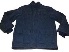 H & M tolle Jacke Gr. 134 blau !!