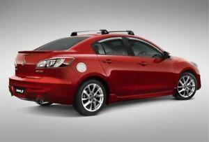 New Genuine Mazda3 BL Front Slimline Weathershield Set Mazda 3 09 -13 BL11WSFSET