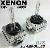 2x D1S 35w 6000k AMPOULES XENON ECLAIRAGE BLANC PHARES FEUX pour AUDI A3 8P 8P1
