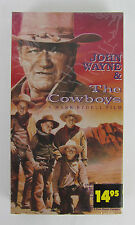 NEW The Cowboys (VHS, 1972) Factory Sealed