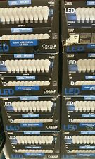 NEW FEIT 10 Bulbs LED 100 Watts Replacement 15W Daylight E26 5000K 1600 Lumens