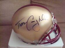 Tom Coughlin AUTOGRAPH BOSTON COLLEGE Mini Helmet SIGNED